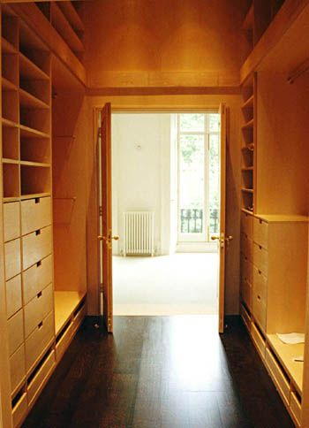 Walk Through Closet For Master