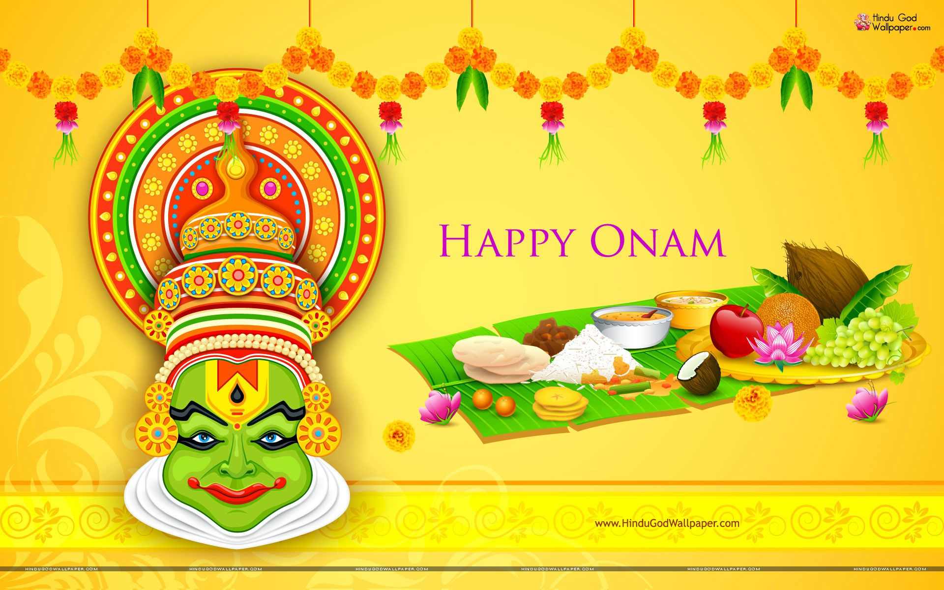 onam festival Onam is by far the biggest and the most important festival of kerala in india onam is a harvest festival and is celebrated with great enthusiasm in kerala.