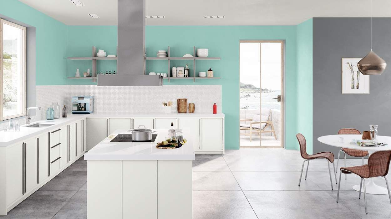 Crystal Clear- Benjamin Moore. Possible Laundry. | House of Colors ...