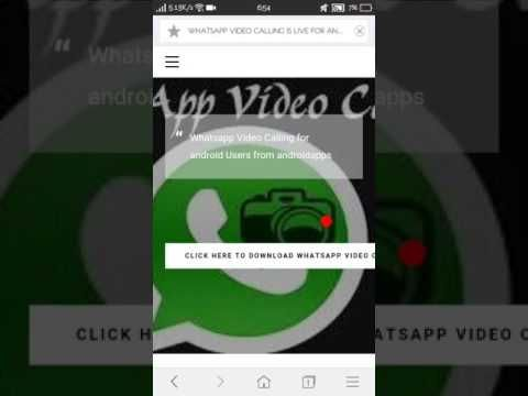 WHATSAPP VIDEO CALLING IS LIVE FOR ANDROID Home