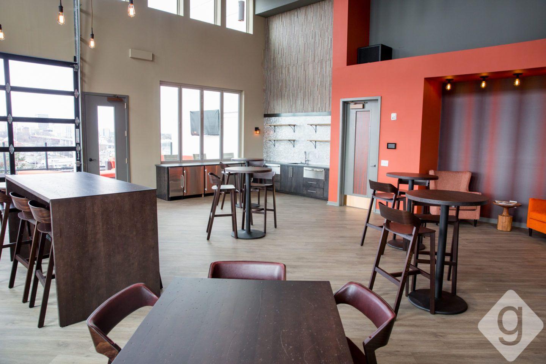Eastside Heights Sky Lounge Nashville, TN Cobalt