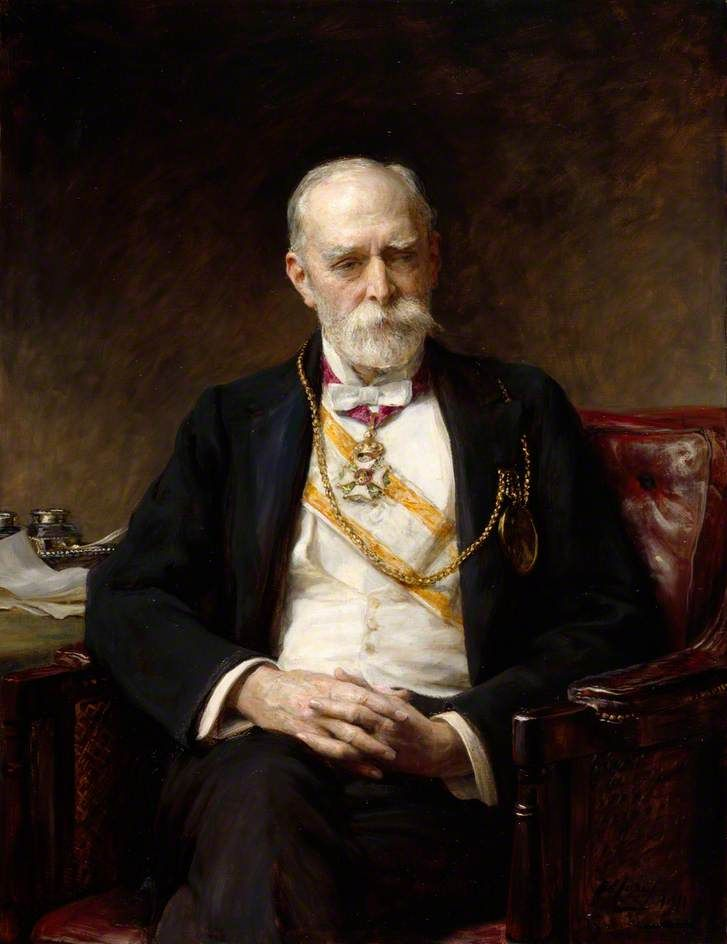 Arthur Stockdale Cope R.A.  Sir Edward Poynter P.R.A. Both were members of The Artists Rifles. Poynter was one of five members of the Regiment to have been elected President of the Royal Academy.