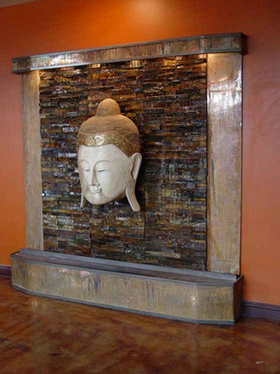 Indoor Wall Mounted Water Fountains Make Your House Features