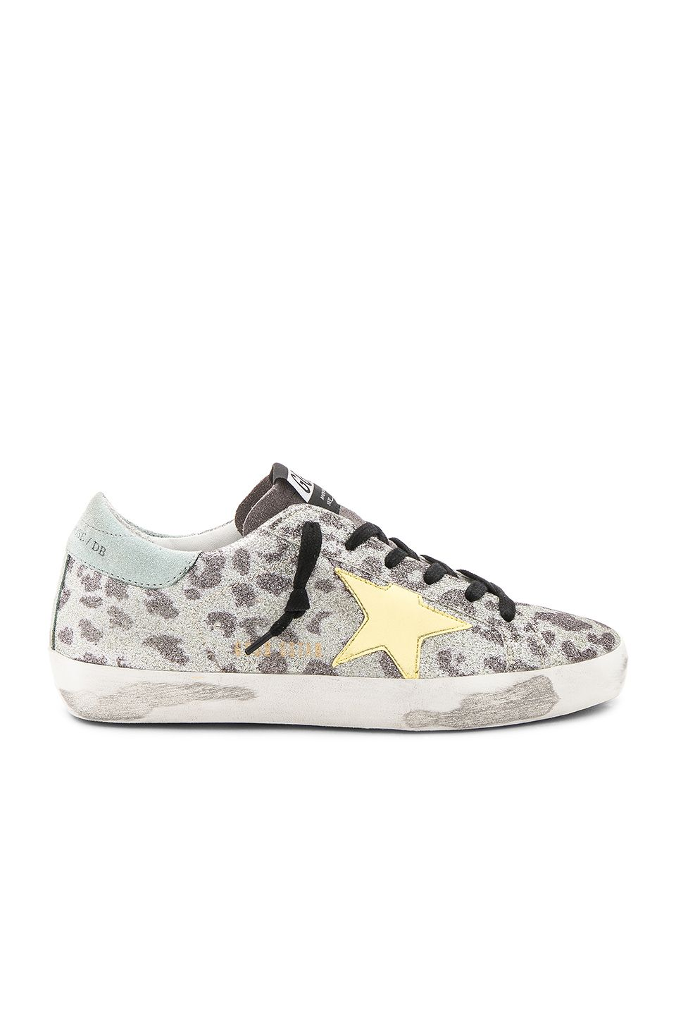c9a120f454fc Golden Goose Superstar Sneaker en Glitter Leopard | REVOLVE | shoes ...
