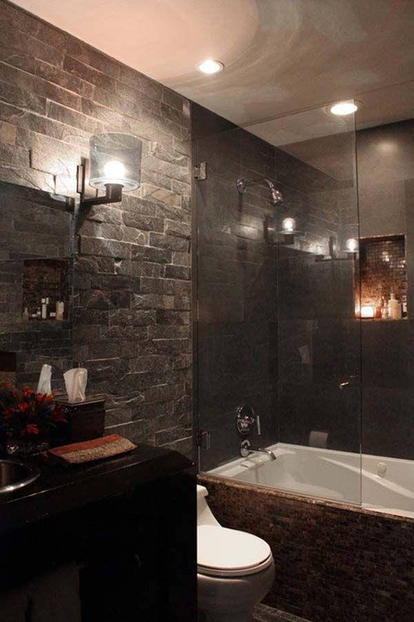 Perfect loft bathroom