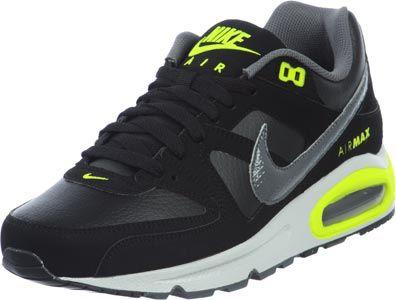 Nike Air Max Command black neon