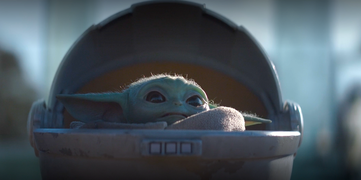 The Mandalorian Episode Three Confirms A Theory About Why Baby Yoda Is So Important Star Wars Poster Mandalorian Star Wars Art