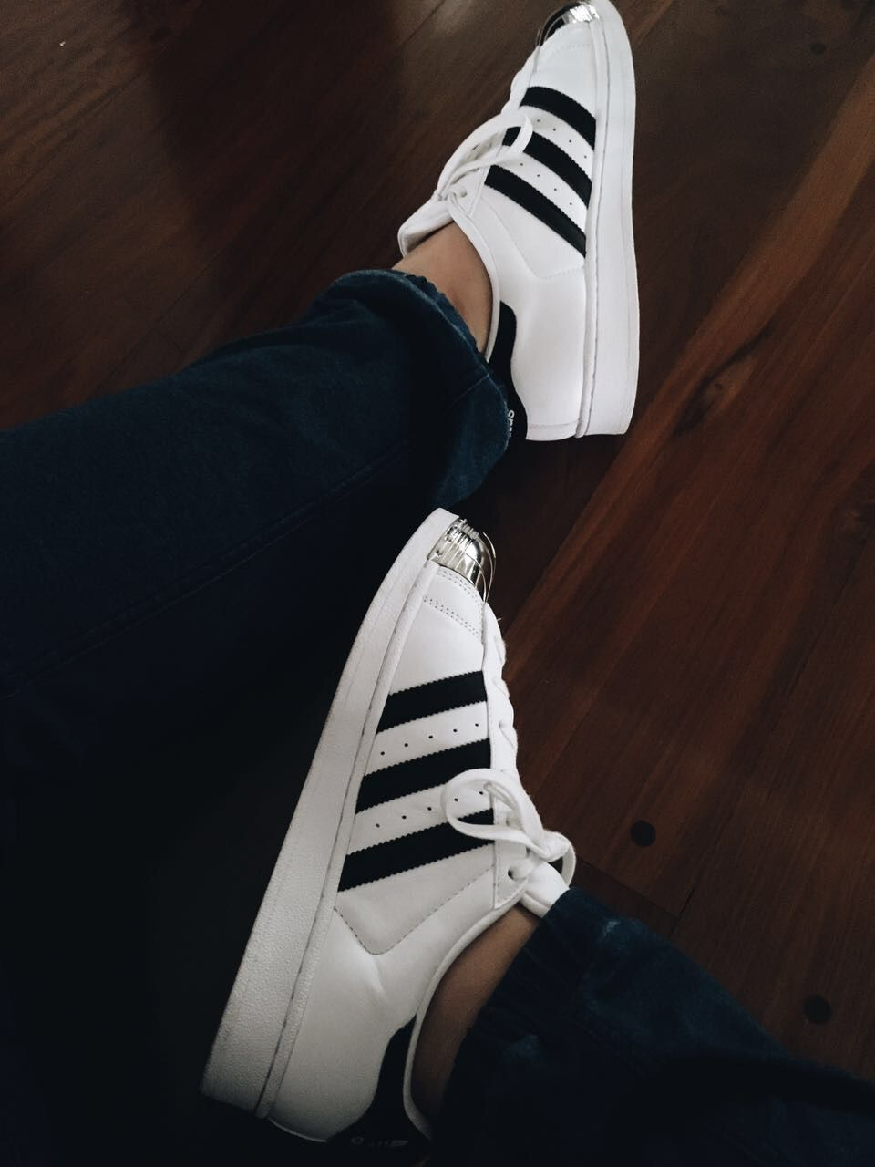 Intentando ser tumblr #adidas #superstars