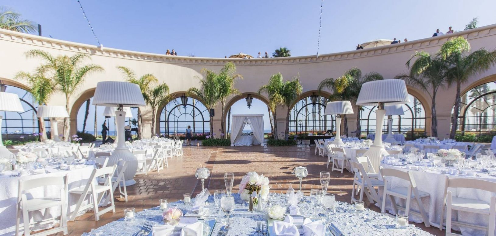 Weddings At The Fess Parker A Doubletree Resort By Hilton Santa Barbara Wedding Venues On Beach