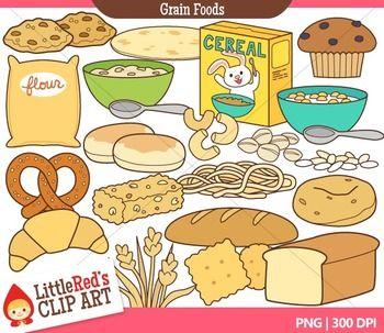 Food printable. Bread and grains clip