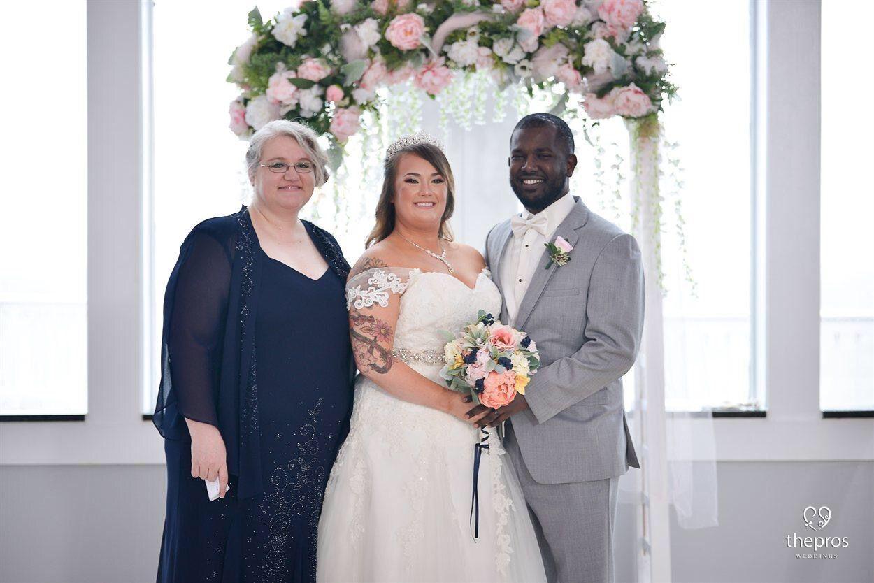 Tattooedbride wedding travel bride groom weddingdress navyblue