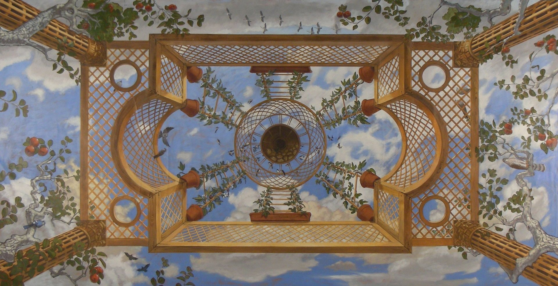 Steve Shriver Trompe L Oeil Sky Outrageously Beautiful