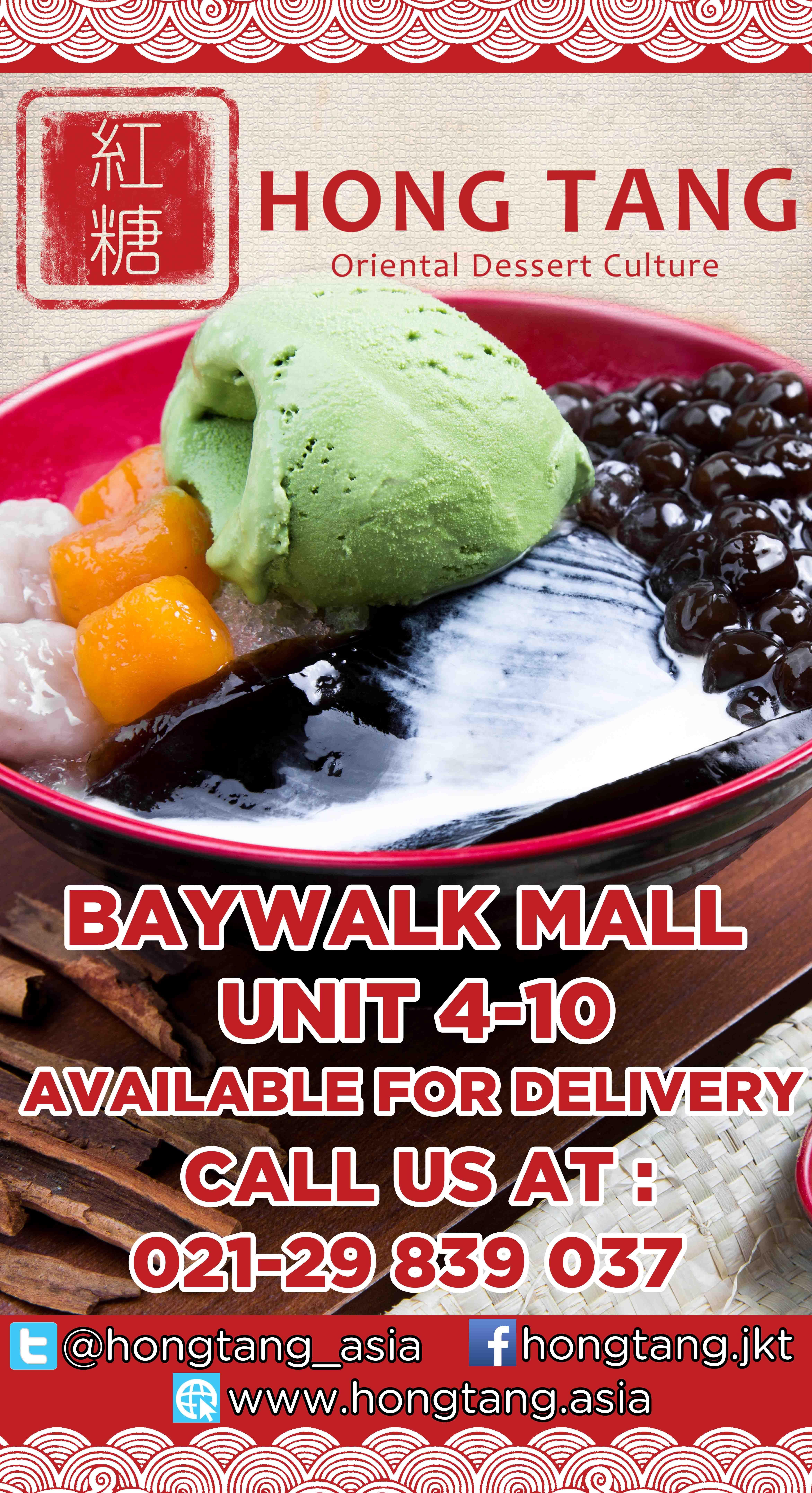 Available Deloivery Hongtang Baywalk Mall
