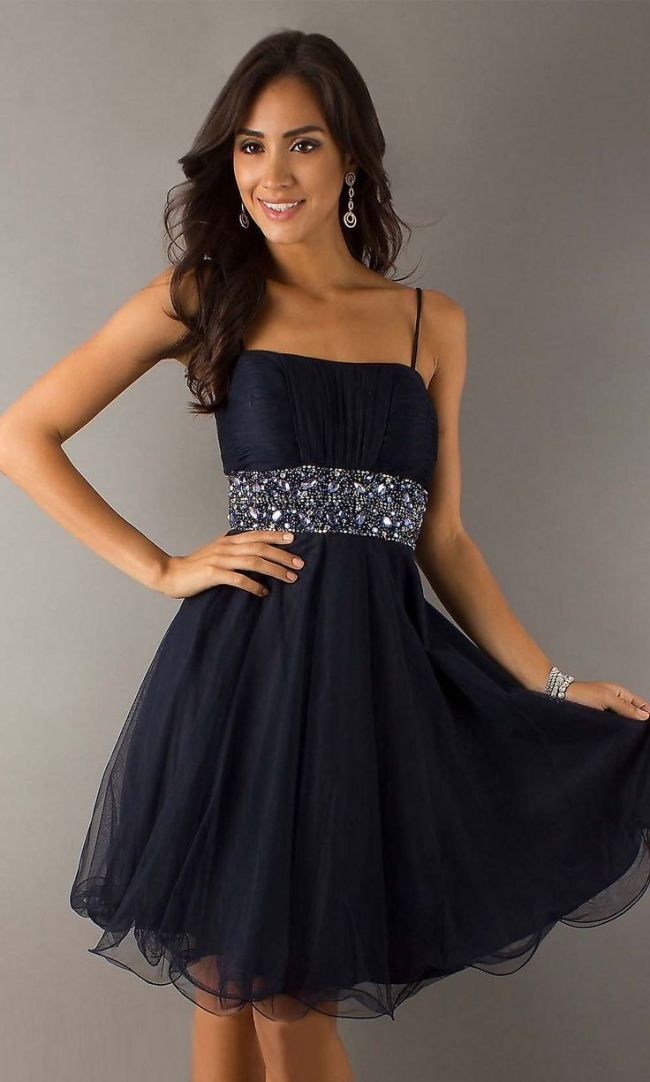 Short Prom Dresses With Straps 2017 2018 For Fashionable Girls