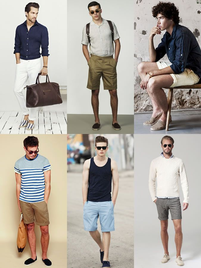 98c345d85c Men's Espadrilles Summer Holiday Outfit Inspiration Lookbook | All ...