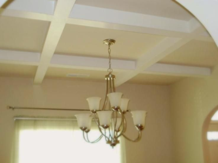Coffered Ceilings in Formal Dining Room Excellent Two Story Home