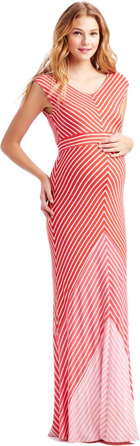 1b623169d3a0e Motherhood Jessica Simpson Short Sleeve Bias Cut Maternity Dress ...