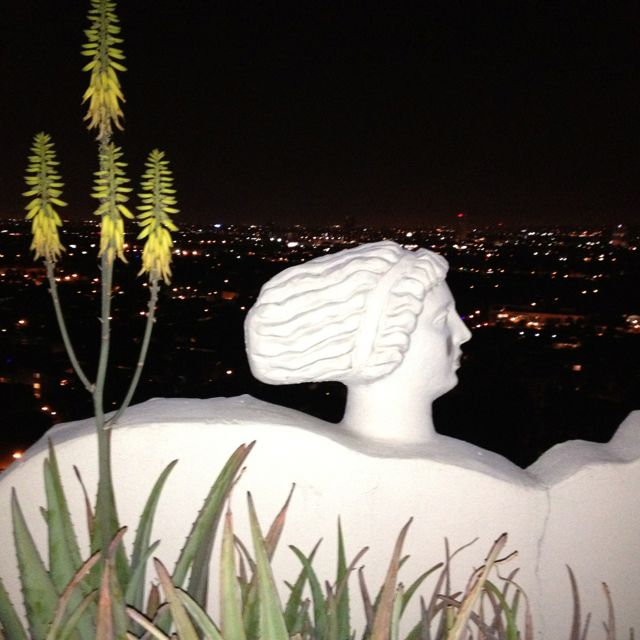 A room with a view in West Hollywood @ The Sunset Tower Hotel