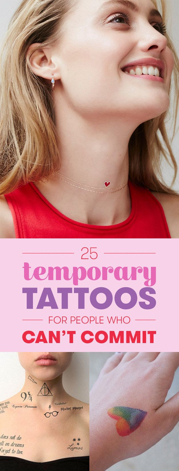 25 Stunning Temporary Tattoos For People Who Can't Commit
