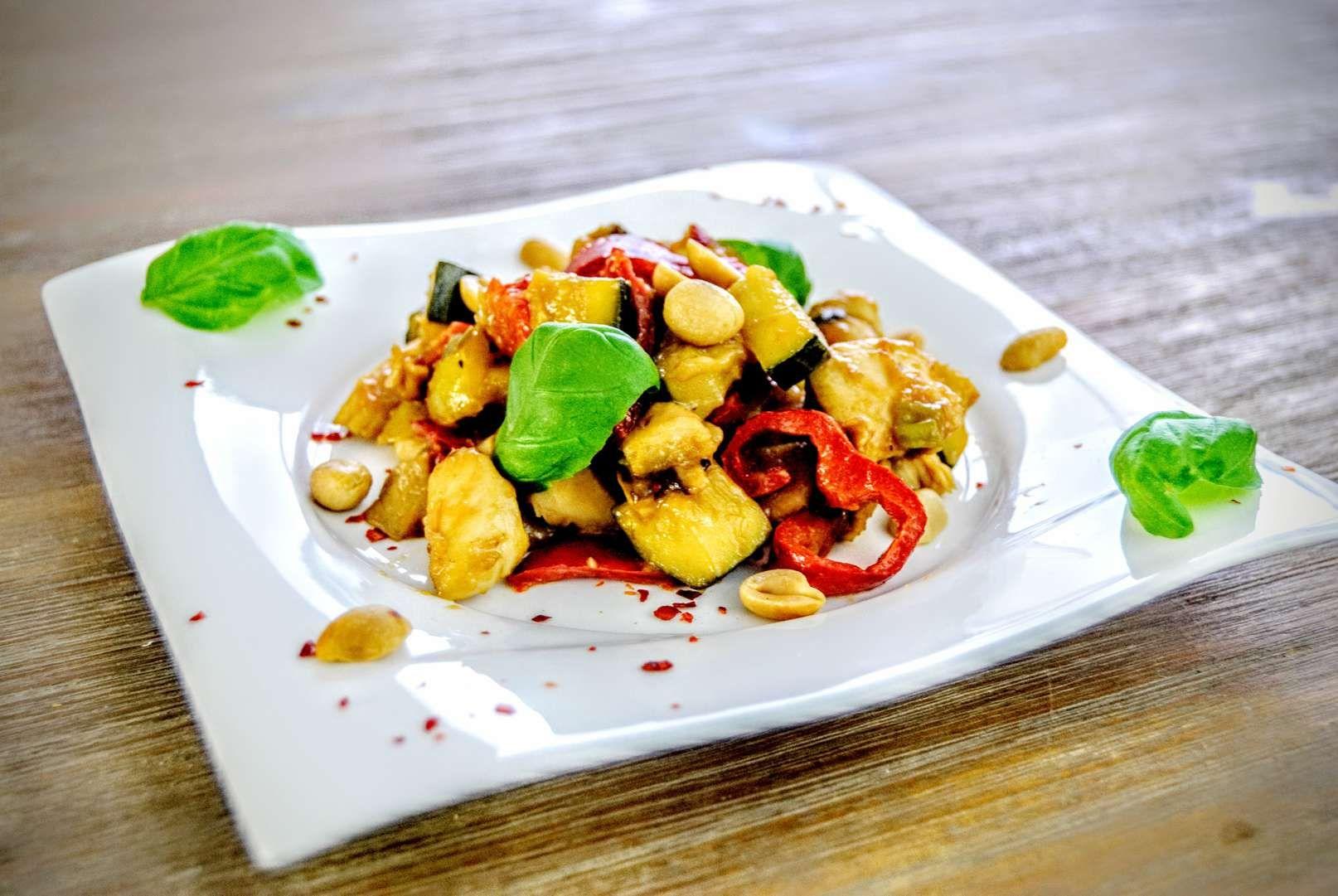Asiatische Rezepte – Gemüsepfanne kalorienarm
