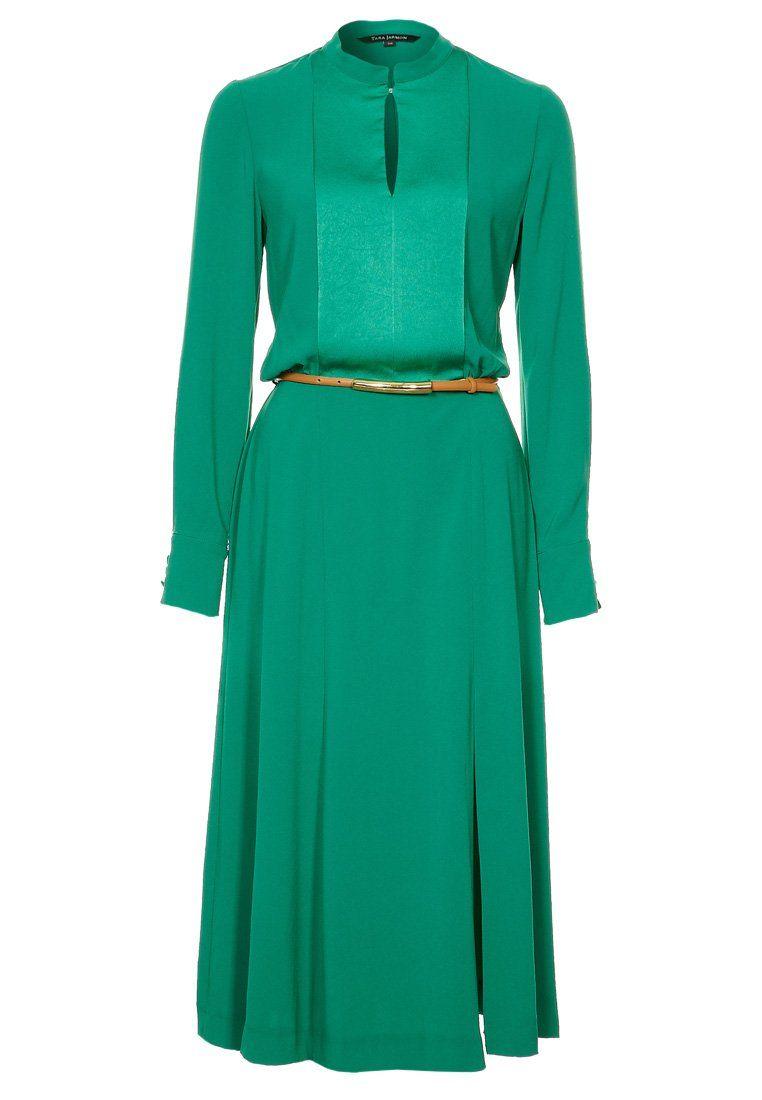 Prachtige #smaragd #groene #jurk van Tara Jarmon @ Zalando ...