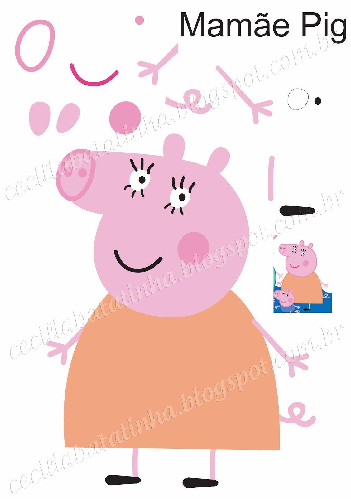 Molde-danny-amiga-peppa-pig