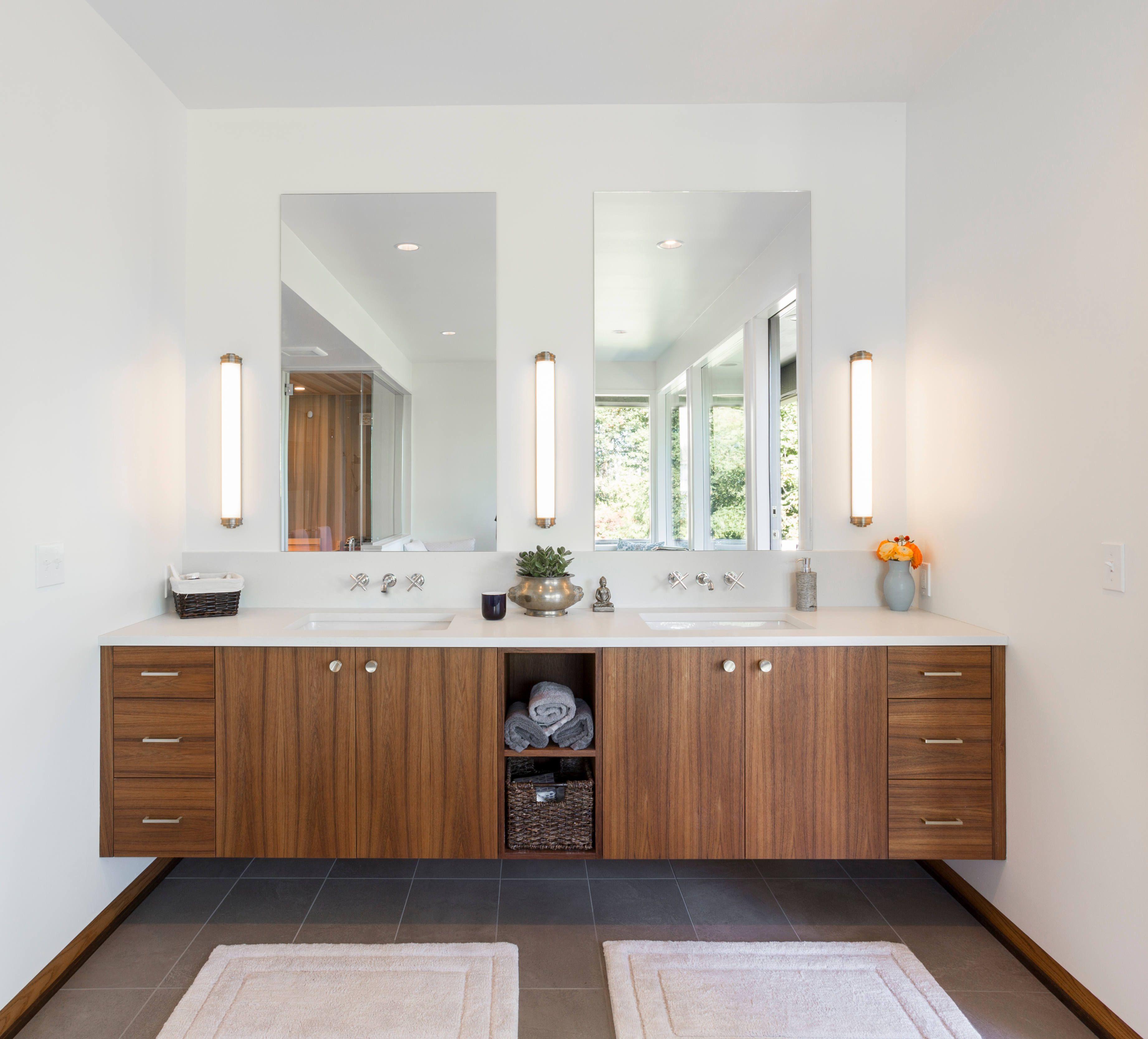 Mid Century Modern Spa In The Trees Remodelista Mid Century Modern Bathroom Modern Spa Mid Modern Bathroom [ 3336 x 3686 Pixel ]