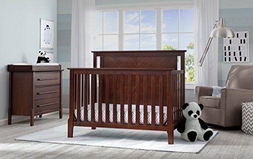 mid century modern baby furniture. Serta Mid Century Modern Lifestyle 4-in-1 Convertible Crib Baby Furniture