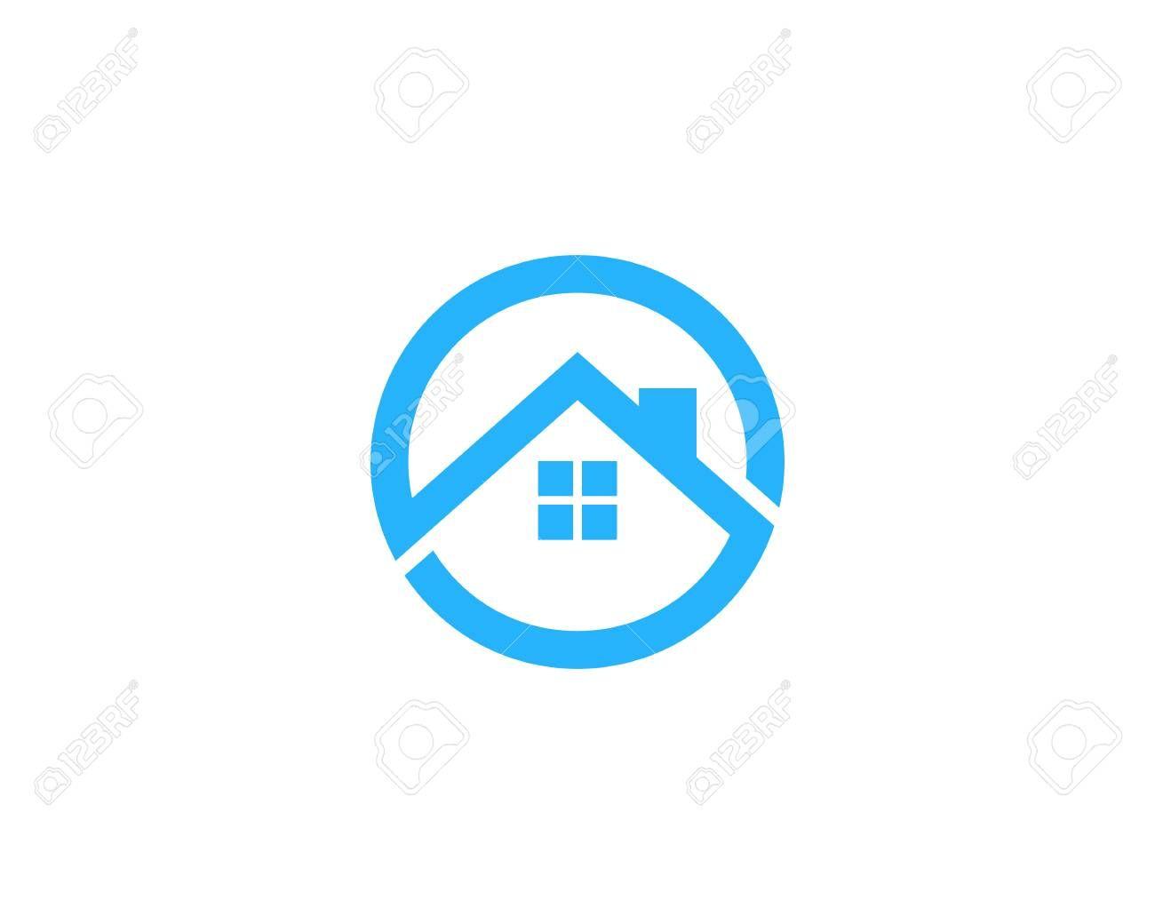 House Home Icon Logo Design Element
