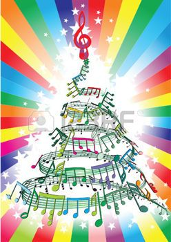 muzieknoten en kerstmis - Google zoeken