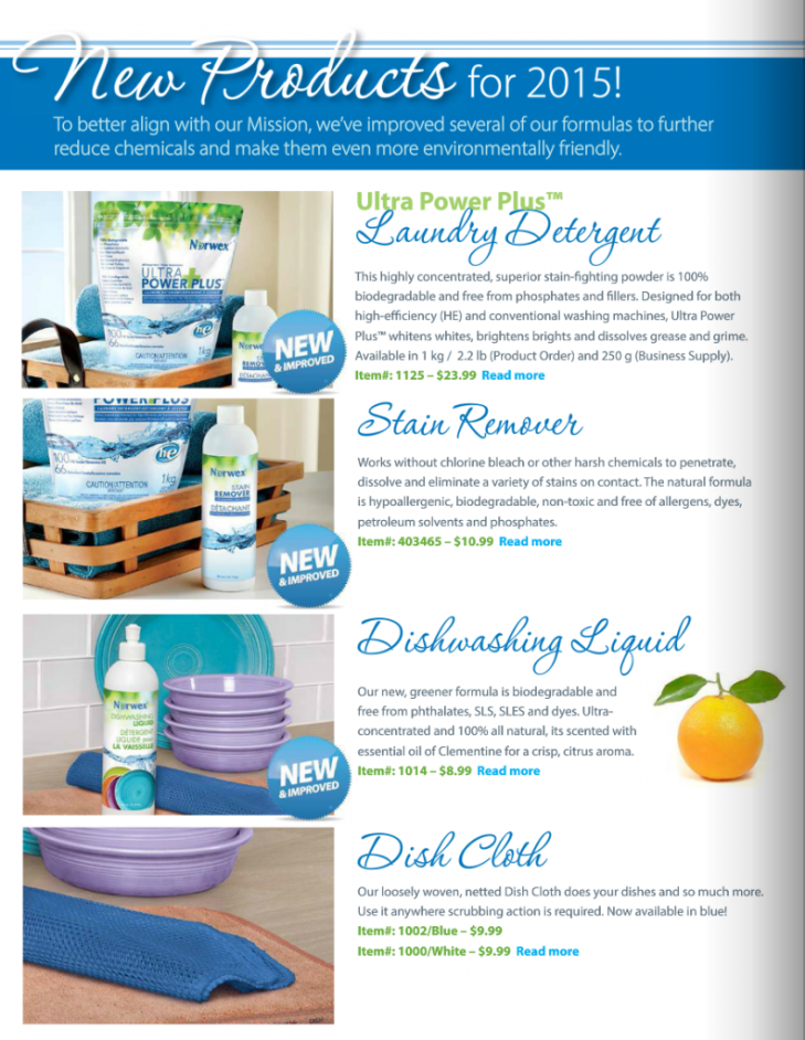 New Norwex Products 2015 So Excited About These Www