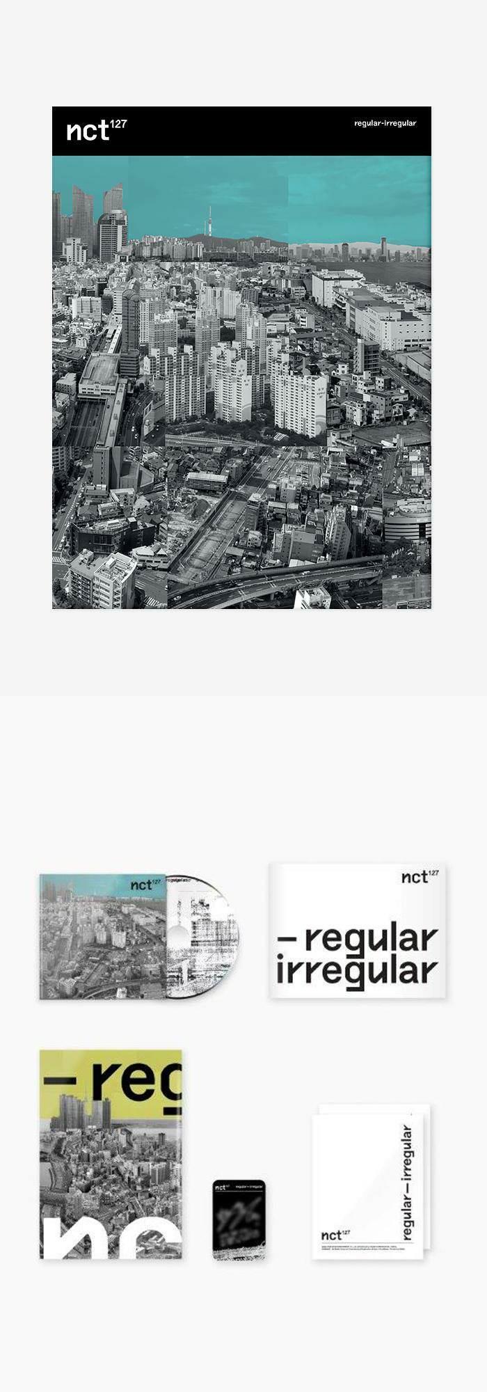 NCT 127 - Regular-Irregular (Album Packaging) | layouts in