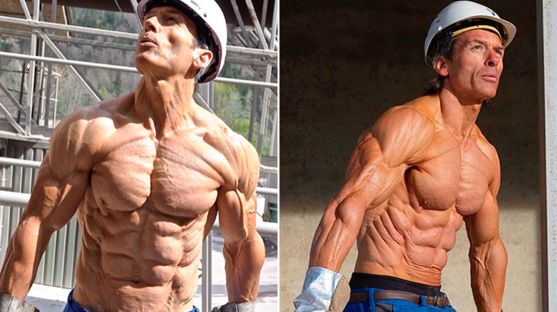 Helmut Strebl Most Shredded Man With Just 4 Bodyfat Helmut Anatomy Male Body