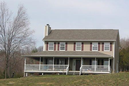 Modular ranch homes with porches wrap around porch for Modular homes with wrap around porch