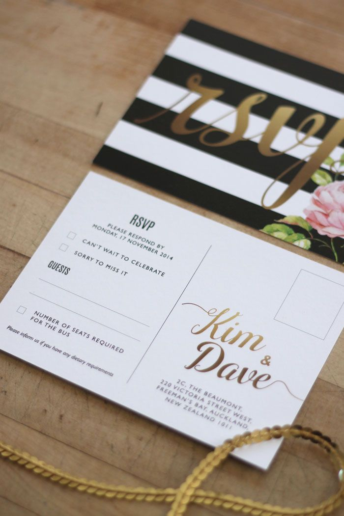 Wedding Invitation & Wedding Stationery Design NZ by Just My Type ...