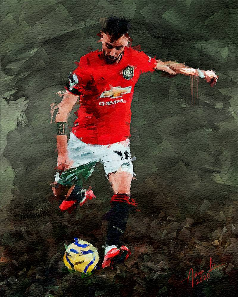 Bruno Fernandez Man Utd By Realdealluk On Deviantart In 2020 Manchester United Wallpaper Manchester United Manchester United Legends