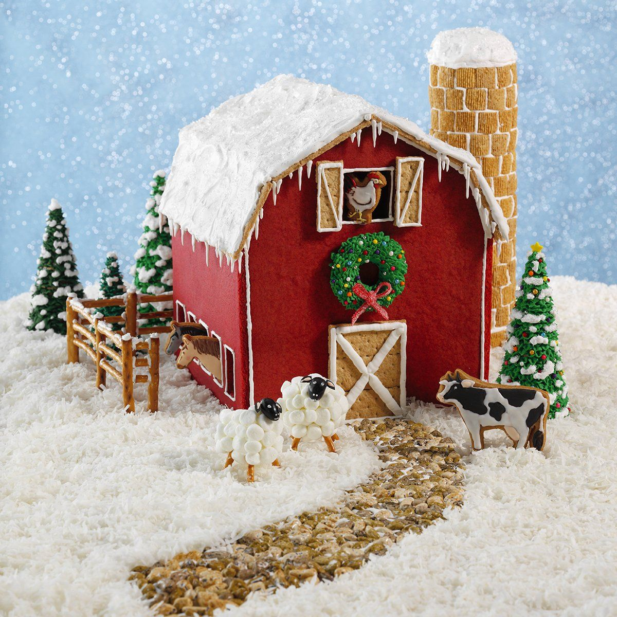 20 Must-See Gingerbread House Ideas #gingerbreadhousetemplate