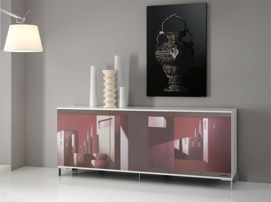 Arredamento lombardo ~ Italian sideboard exential art lombardi 03 by spar $2 950.00