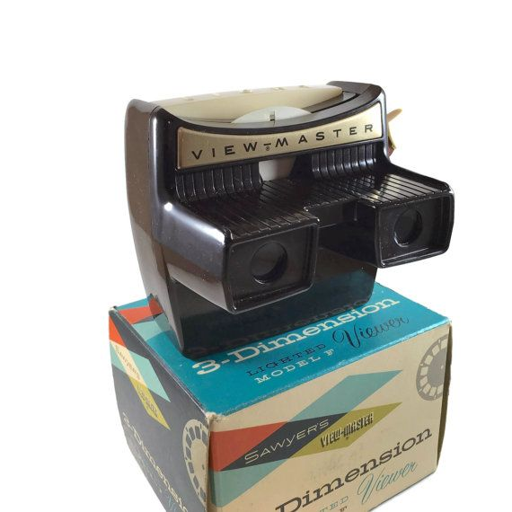 Sawyer 39 S 3 D Lighted View Master Viewer Model F Bakelite