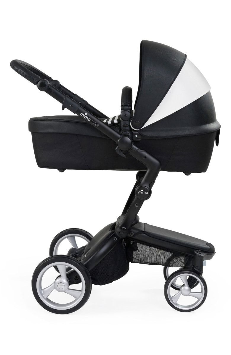 MIMA Kids xari black and white stroller Luxury European