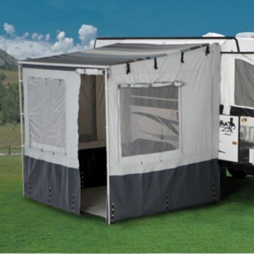 Carefree Of Colorado 37101fev Weekend R 2 5m Van Add A Room Tent Enclosure Add A Room Rv Camping Trailer