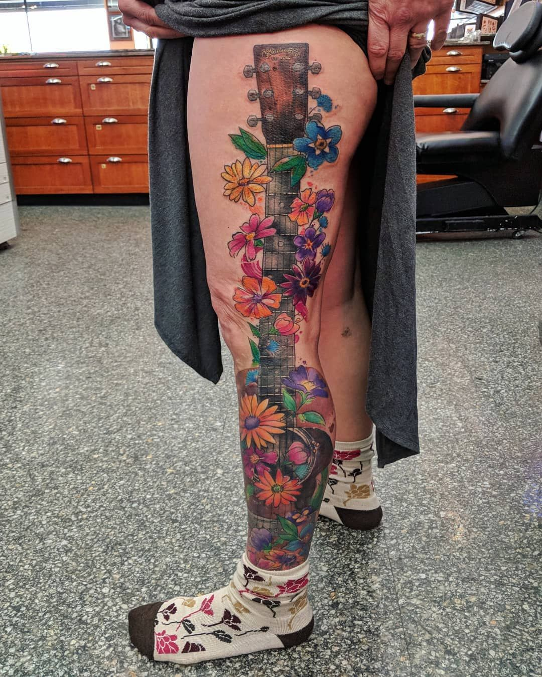 Amy zager tattoos art watercolor tattoo