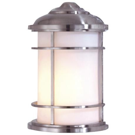 Feiss Lighthouse Collection 11 High Outdoor Wall Light 84725 Lamps Plus Modern Outdoor Wall Lighting Wall Mount Lantern Outdoor Walls