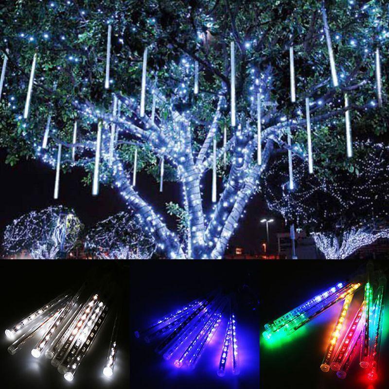Led Christmas Lights Led Falling Star Tube Kit Eco Lights Ledlights Gogreen Led Design Ligh Rain Lights Led Christmas Lights Outdoor Christmas Lights