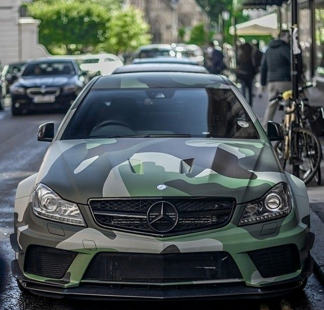 C-63 Camo | Vehicle Beauty | Mercedes benz c63 amg ...