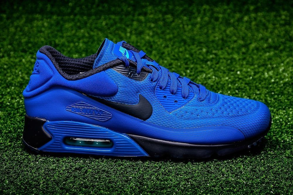 new products 79609 2a8fa AUTHENTIC Nike Air Max 90 Ultra Omega Cobalt Hyper Blue Black 845039 401  men sz  Clothing, Shoes  Accessories, Mens Shoes, Athletic  eBay!