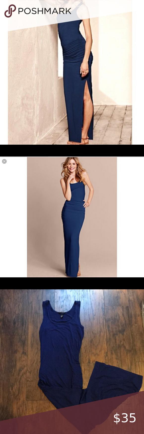 Victoria Secret Rucked Maxi Dress Ruched Maxi Dress Victoria Secret Maxi Dress [ 1740 x 580 Pixel ]