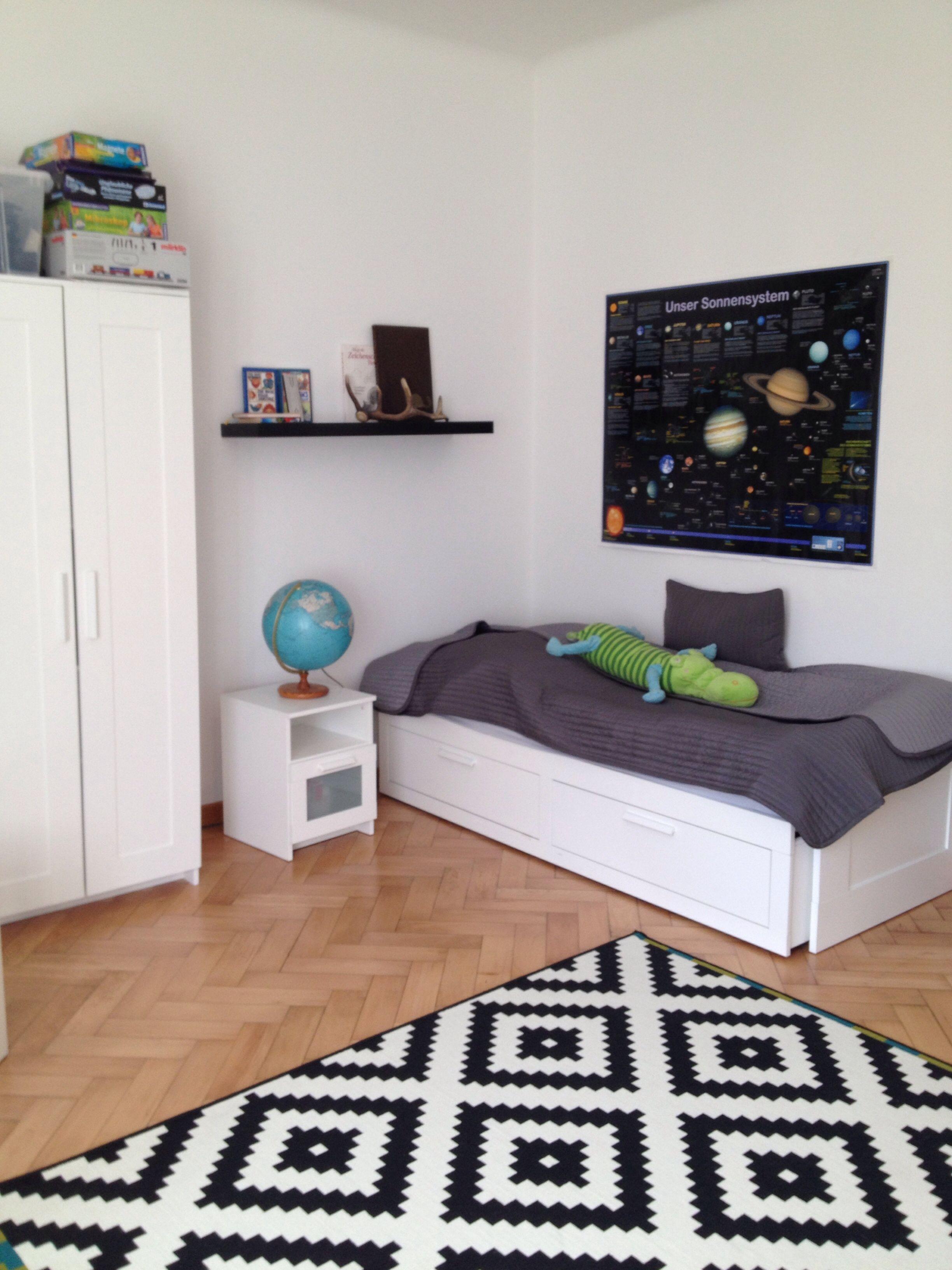 Jugendzimmer Kinderzimmer #altbau | Daheim*- Altbau Wohnung ...
