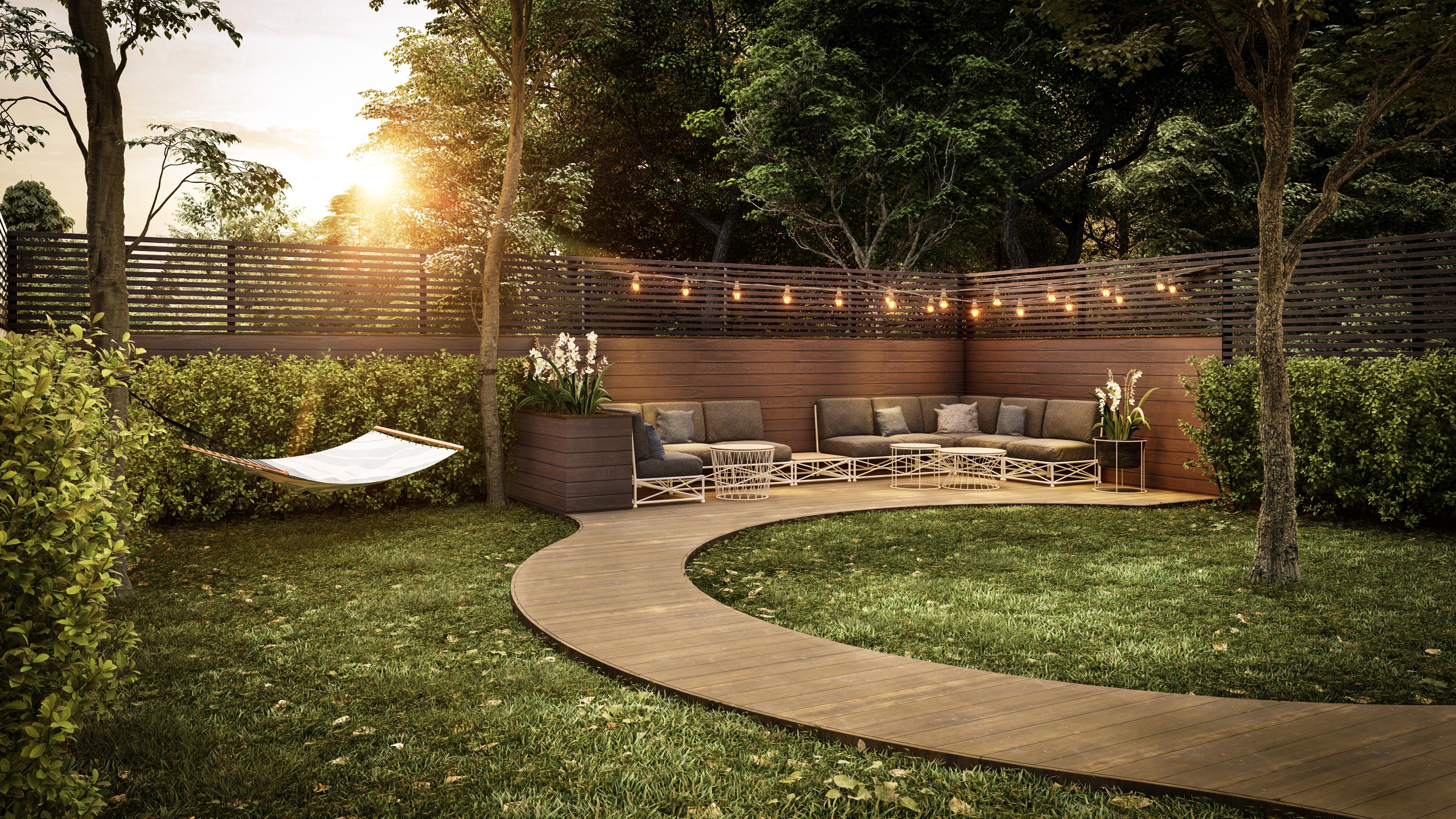 Backyard Garden Design Rendered In Lumion 10 By Stephan Pavlov Backyard Garden Design Backyard Landscaping Landscape Design Services