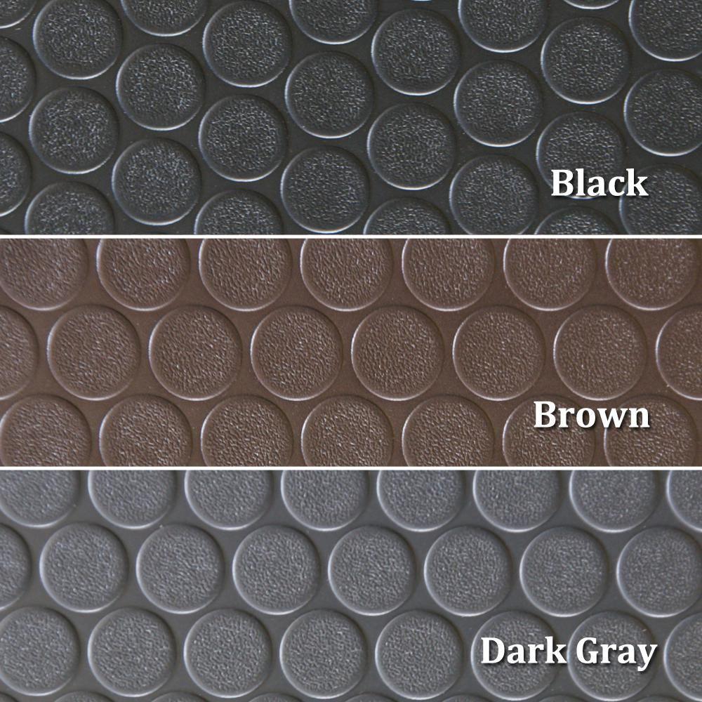 Rubber Cal Coin Grip 4 Ft X 40 Ft Dark Grey Commercial Grade Pvc Flooring 03 165 2mm Dg40 The Home Depot In 2020 Pvc Flooring Rubber Flooring Rubber Mat